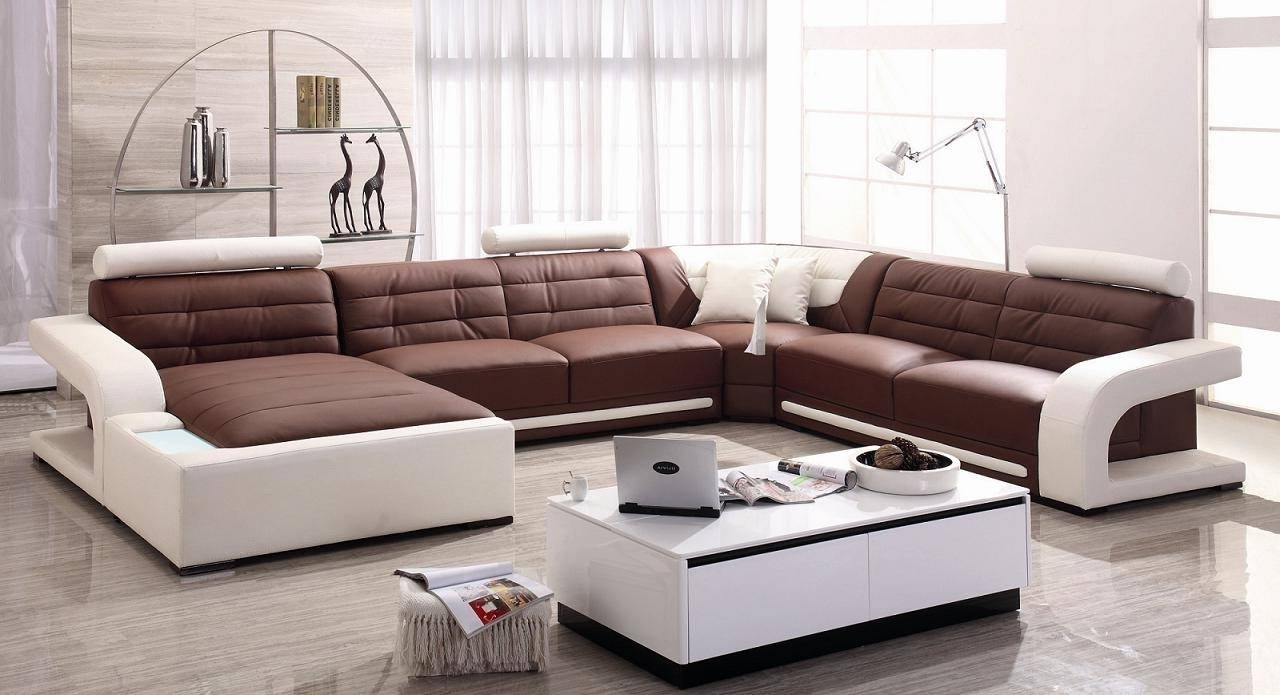Brilliant Modern Microfiber Sectional Sofas – Mediasupload Regarding 2019 Modern Microfiber Sectional Sofas (View 3 of 20)