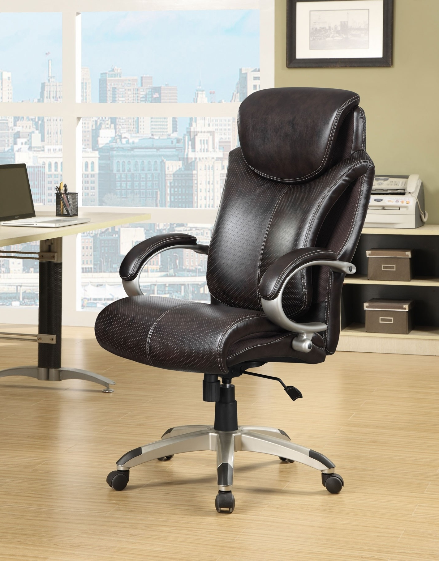 Brown Executive Office Chairs In 2018 True Innovations (View 2 of 20)