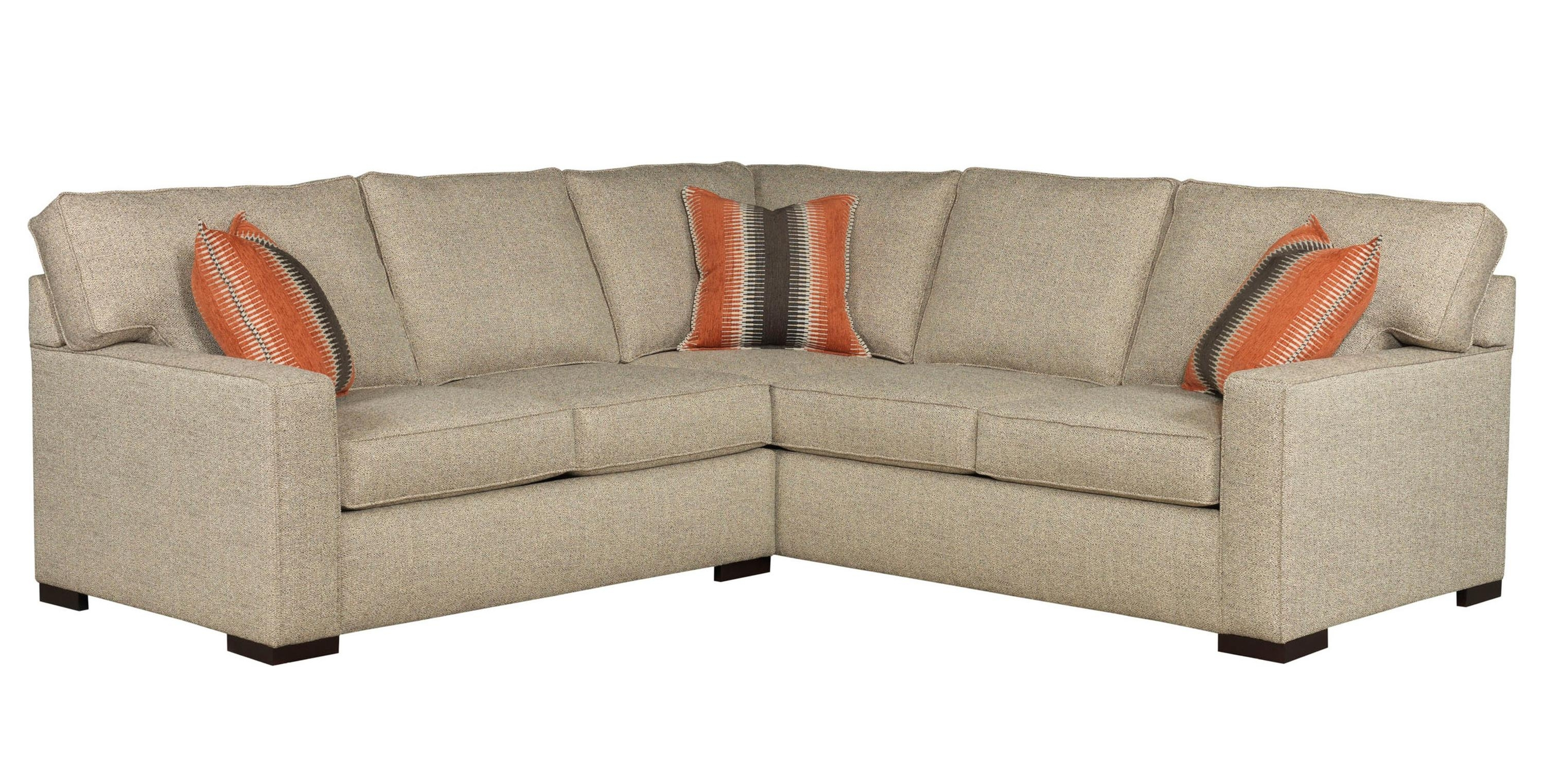 Broyhill Furniture Raphael Contemporary Two Piece Sectional Sofa Pertaining To Trendy Panama City Fl Sectional Sofas (View 4 of 20)