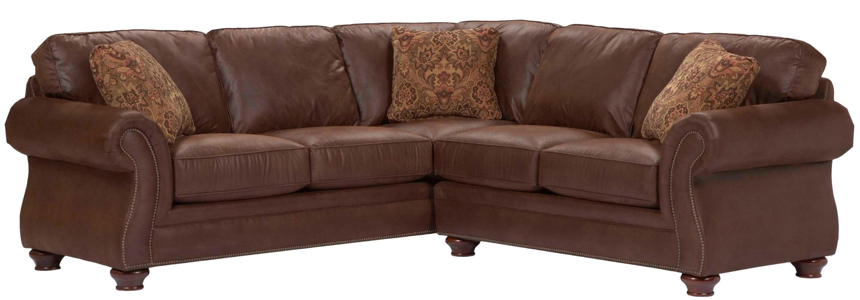 Broyhill Sectional Sofas In Recent Broyhill Furniture Laramie 2 Piece Corner Sectional Sofa (View 6 of 20)
