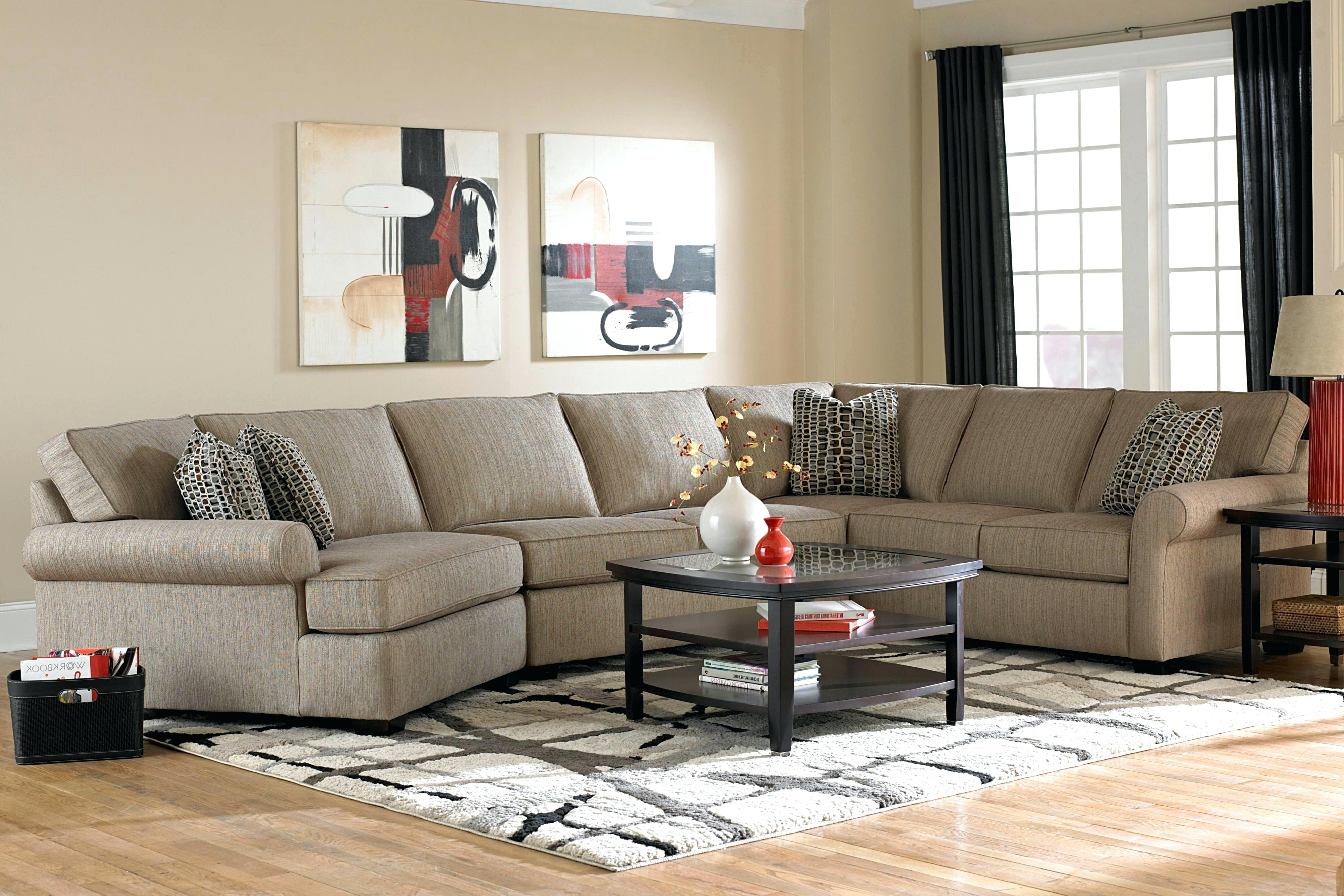 Broyhill Sectional Sofas Regarding Most Up To Date Broyhill Furniture Sale 3 Sofa With All Around Wood Base – 4Parkar (View 3 of 20)