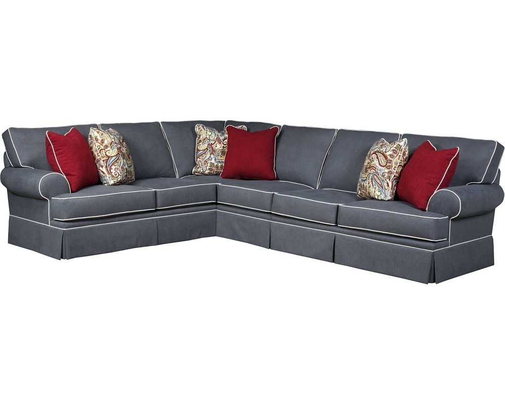 Broyhill Sectional Sofas Regarding Well Known Featured Mesmerizing Tropical Living Room Decorating Ideas Rattan (View 10 of 20)