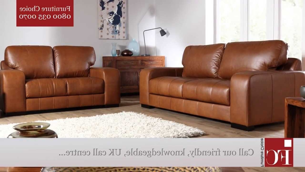 Buffalo Aniline Leather Sofas From Furniture Choice – Youtube In Fashionable Aniline Leather Sofas (View 8 of 20)