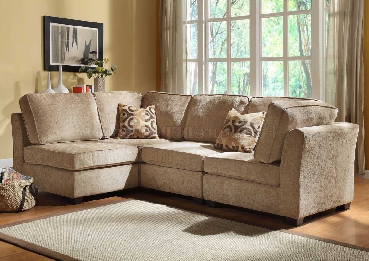 Burke Modular Sectional Sofa 9709Cnhomelegance W/options In Most Current Michigan Sectional Sofas (View 5 of 20)