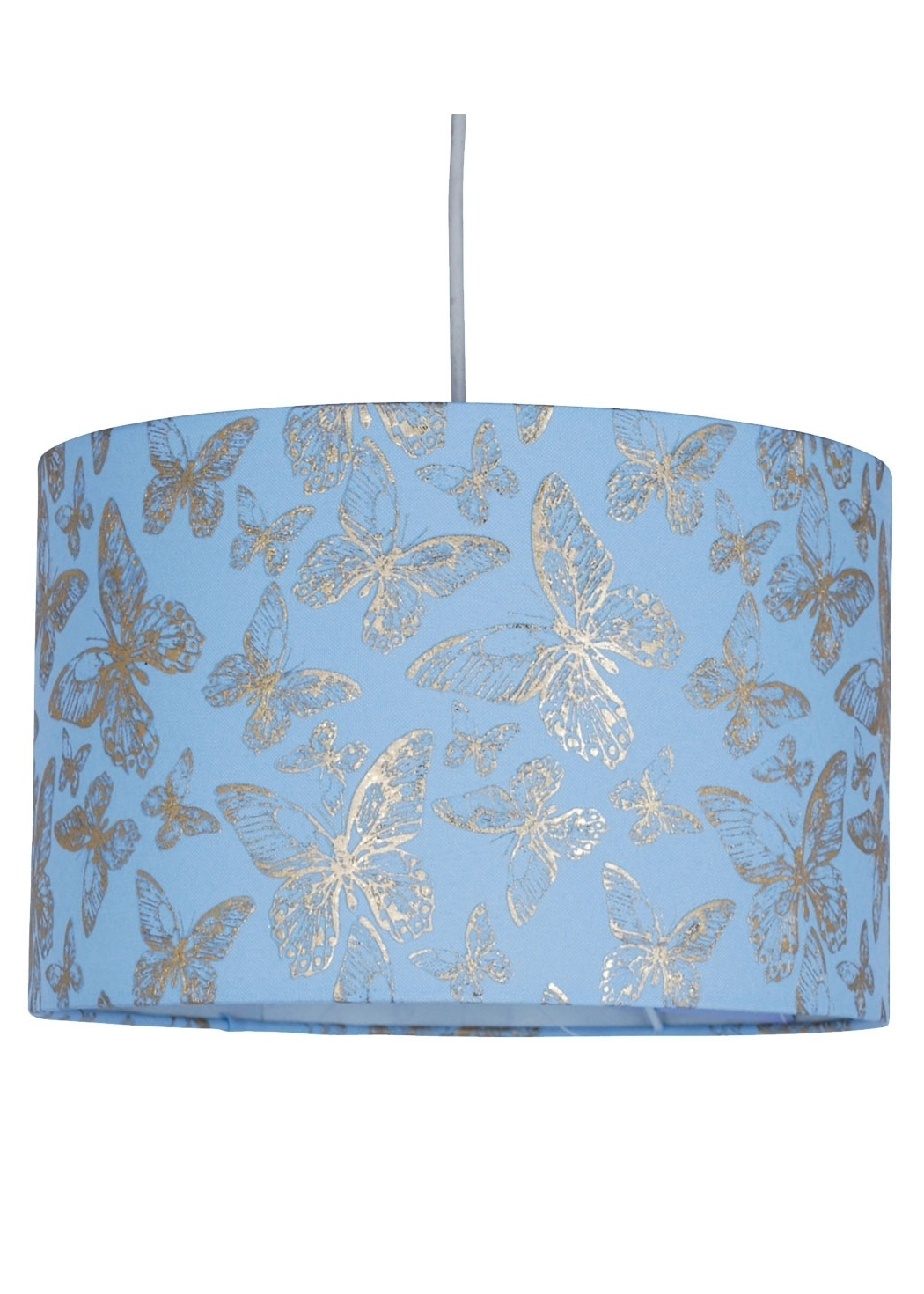 Butterfly Drum Pendant Light Shade (View 17 of 20)
