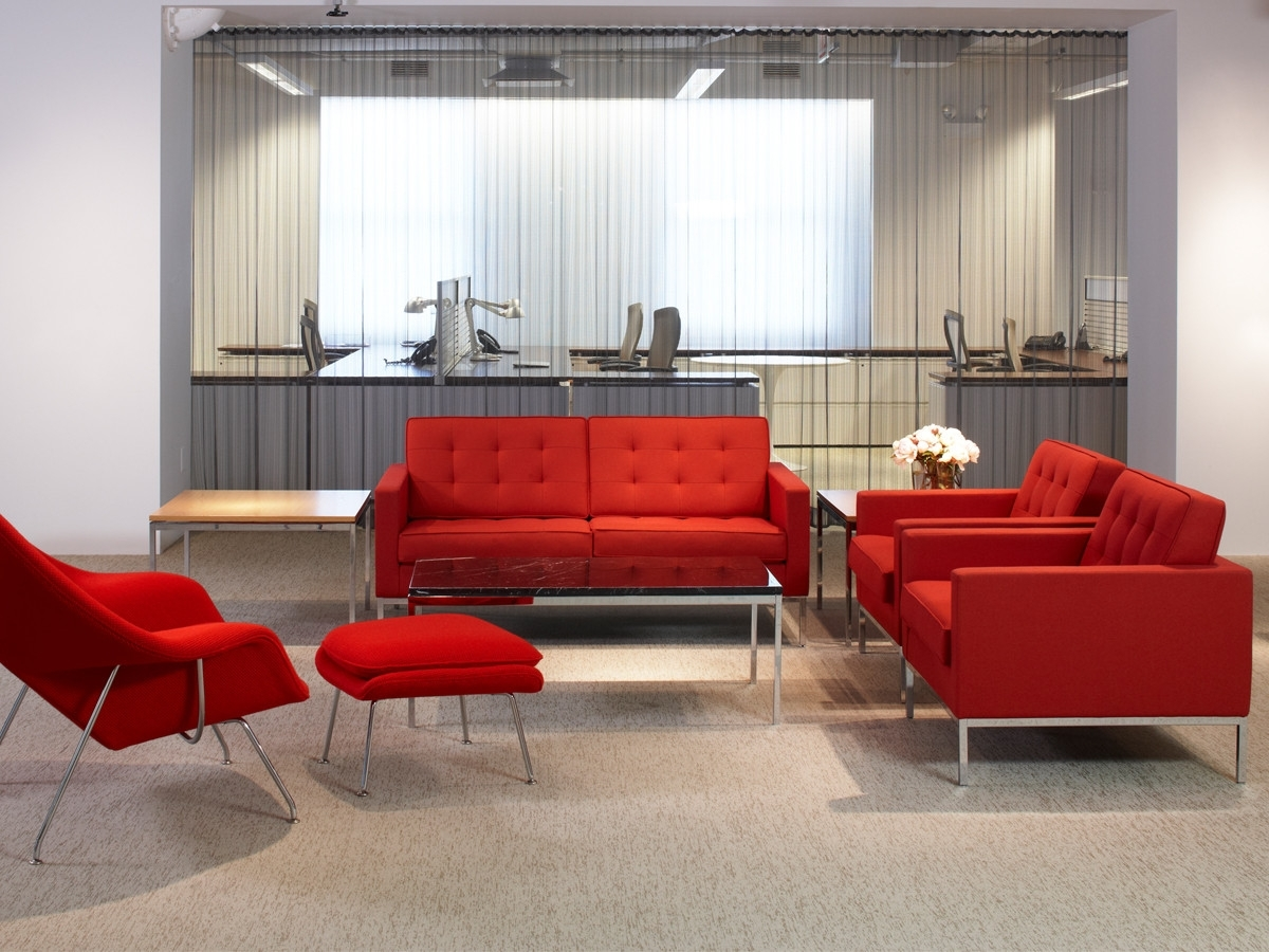 Buy The Knoll Studio Knoll Florence Knoll Two Seater Sofa At Nest In Famous Florence Knoll Fabric Sofas (View 17 of 20)