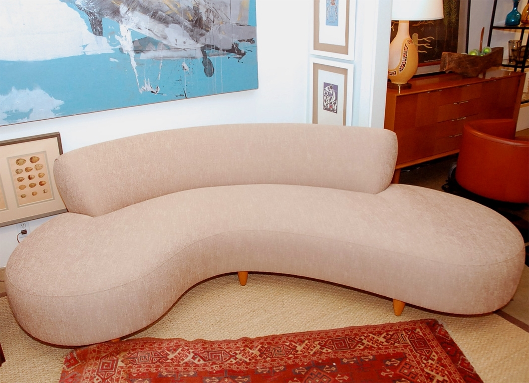 C Shaped Sofa – Materialwant (View 7 of 20)