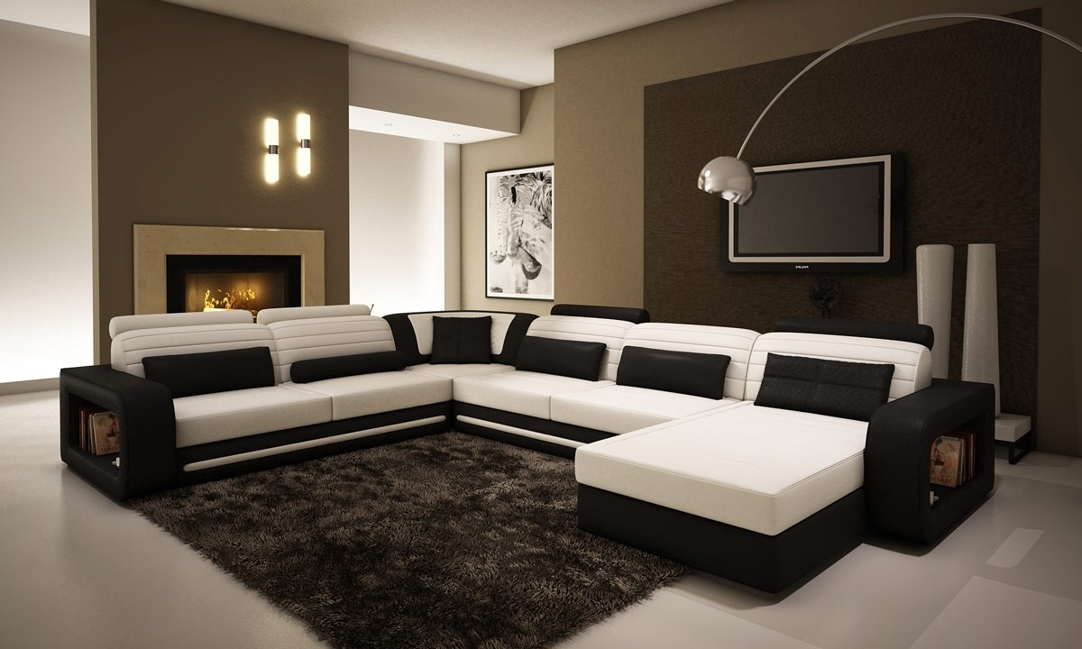 C Shaped Sofas Within Most Recently Released U Shaped Couch In Innovative Ideas – Home Designing (View 8 of 20)