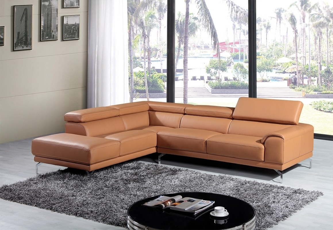Camel Color Leather Sectional Sofa • Leather Sofa Within Well Known Camel Colored Sectional Sofas (View 6 of 20)