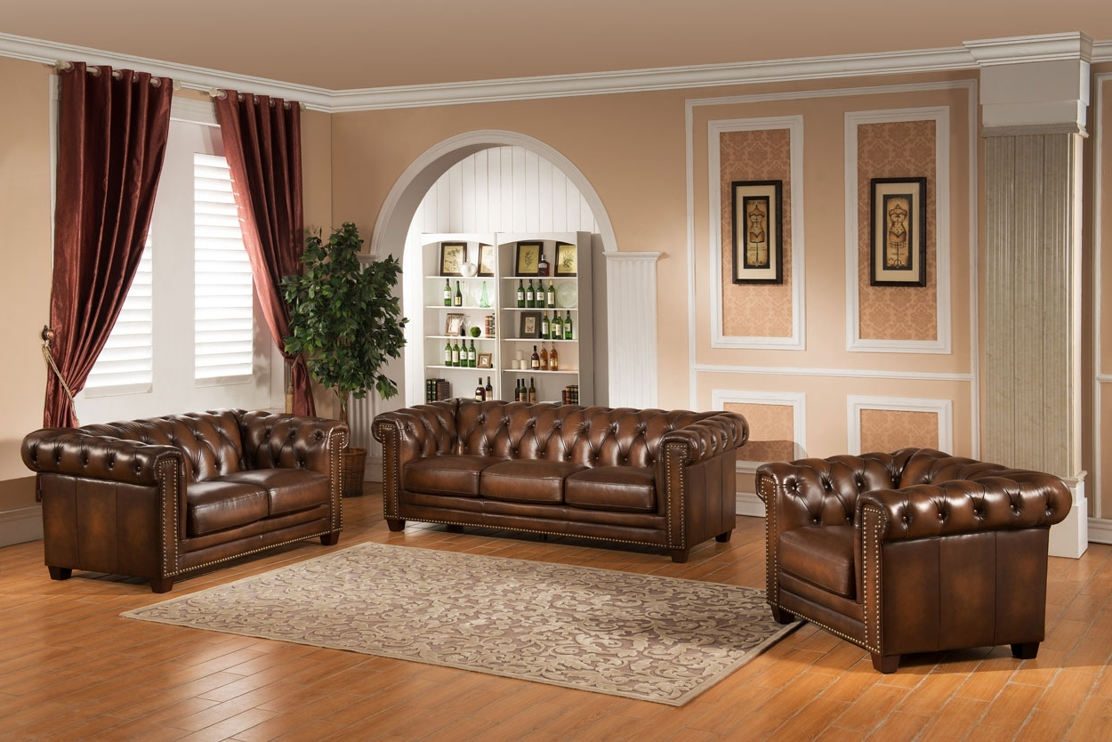 Canterbury Leather Sofas In Most Recently Released Sofas – Amax Leather (View 8 of 20)