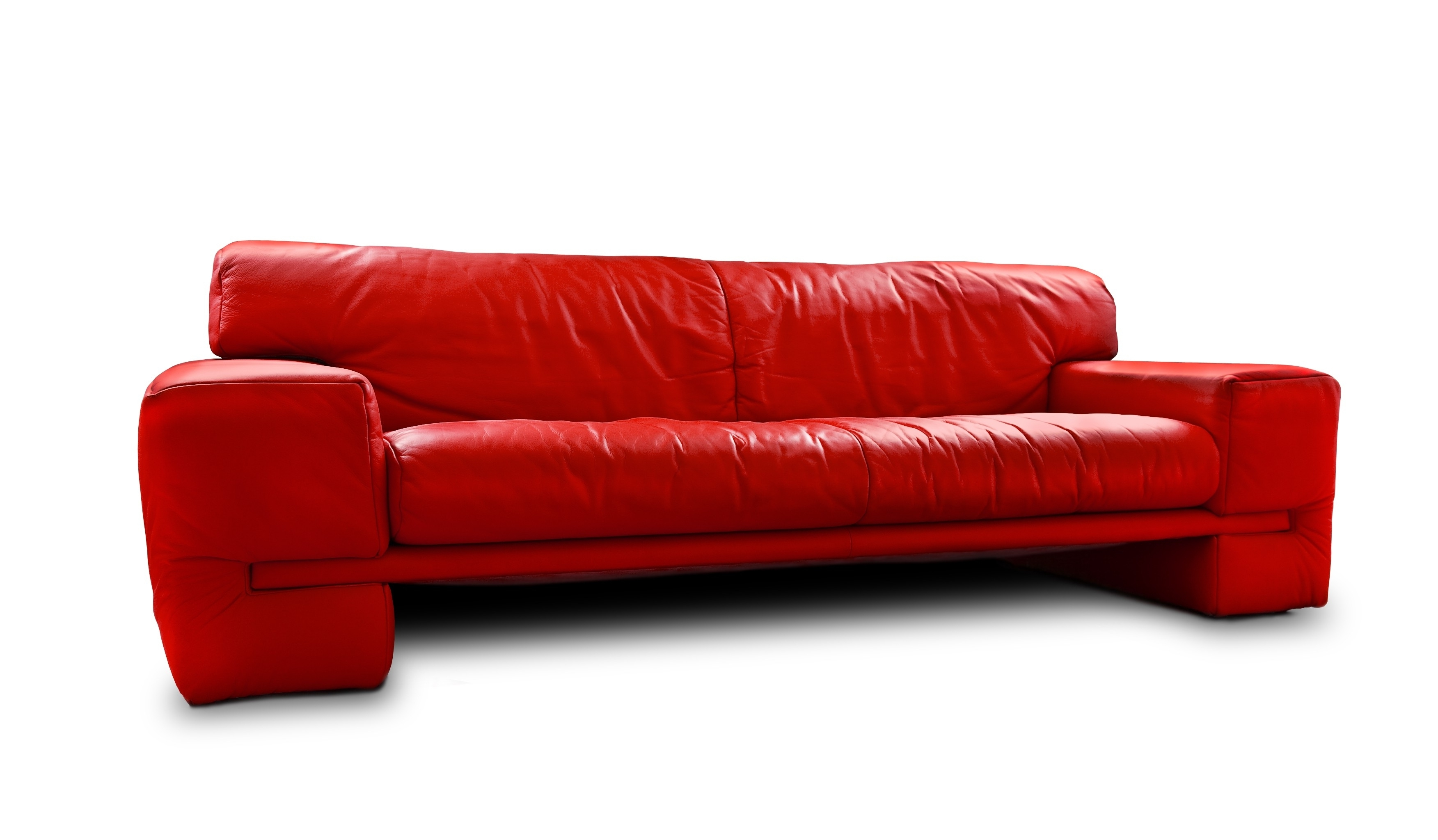 Captivating Red Leather Sleeper Sofa Cool Home Furniture Ideas In Current Red Sleeper Sofas (View 4 of 20)
