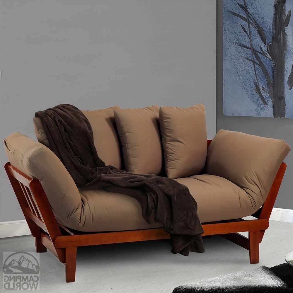 Casual Sofas And Chairs Throughout Most Current Casual Lounger Sofa Bed, Oak – Yu Shan Co Usa Ltd 411 75 – Sofas (View 5 of 20)
