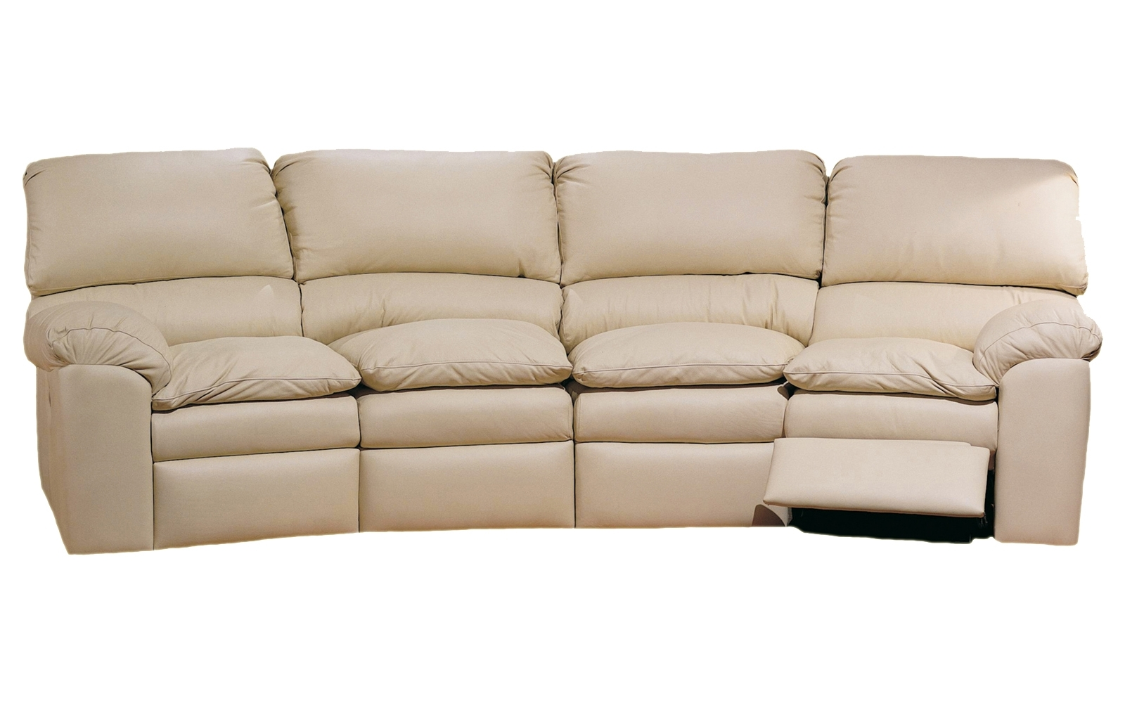 Catera 4 Seat Conversation Sofa – Omnia Leather Inside Fashionable 4 Seat Sofas (View 6 of 20)