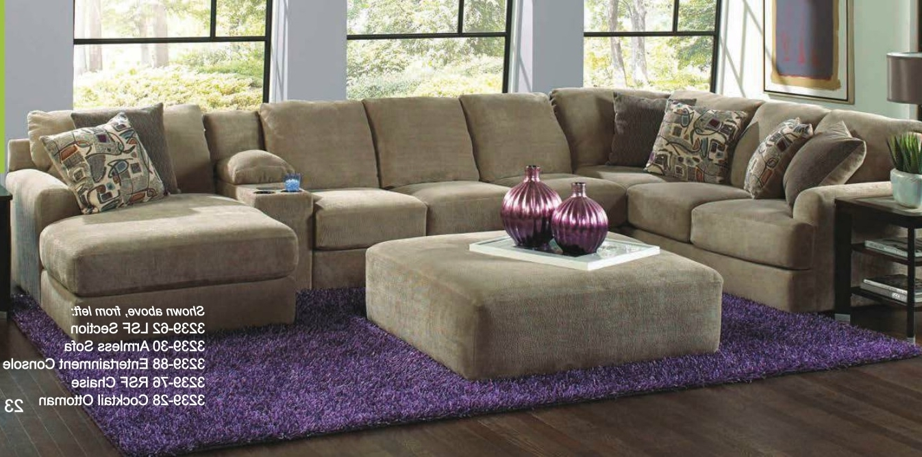 Catnapper 4 Piece Malibu Sectional Set Made In Usa – Usa Furniture In Latest Made In Usa Sectional Sofas (View 3 of 20)
