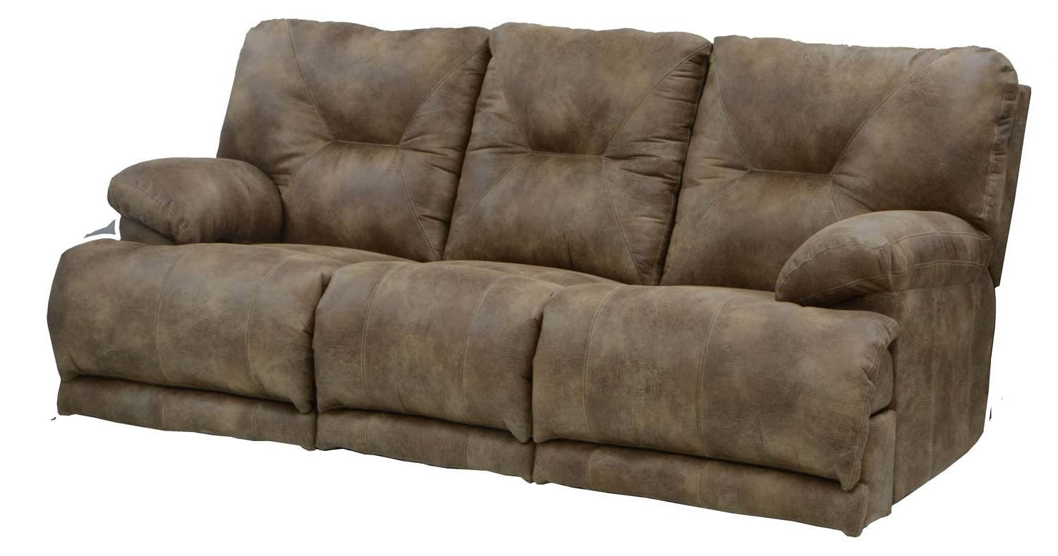 Catnapper Voyager Lay Flat Sofa With 3 Recliners And Drop Down With Regard To Latest Recliner Sofas (View 10 of 17)