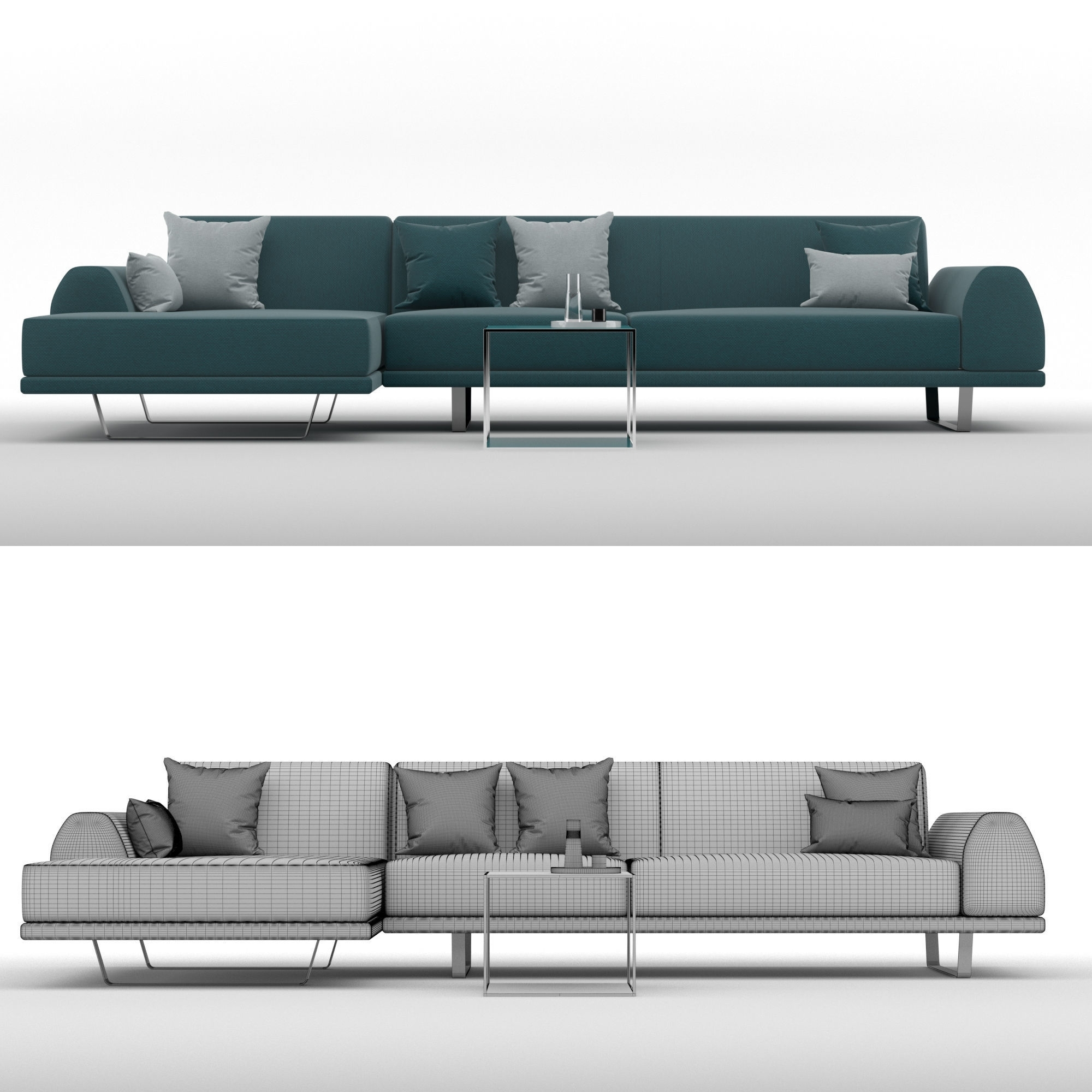 Cgtrader With Regard To 2019 Portland Sectional Sofas (View 20 of 20)