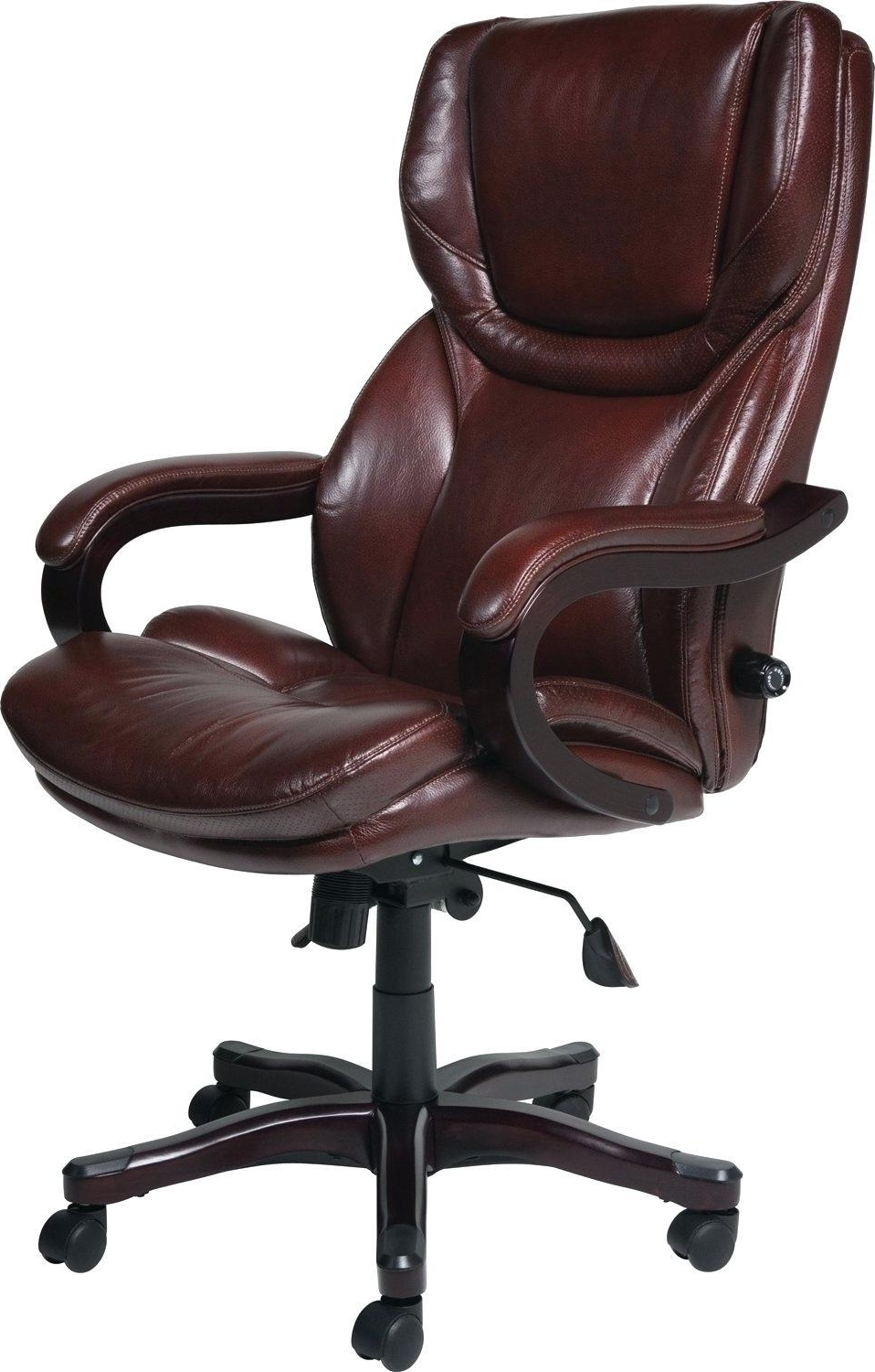 Chair : Flash Furniture Leather Executive Office Chair With Arms Pertaining To Newest Black Leather Faced Executive Office Chairs (View 7 of 20)