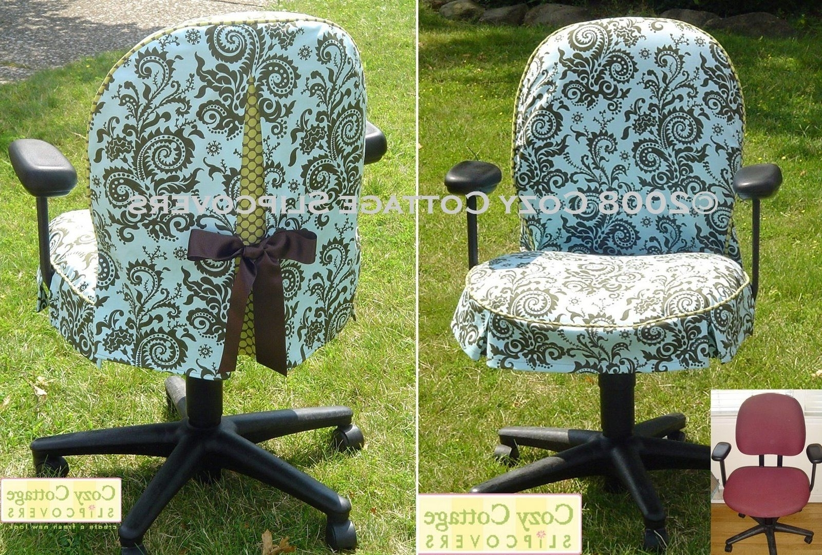 Chair Slipcovers, Craft And Crafty (View 4 of 20)