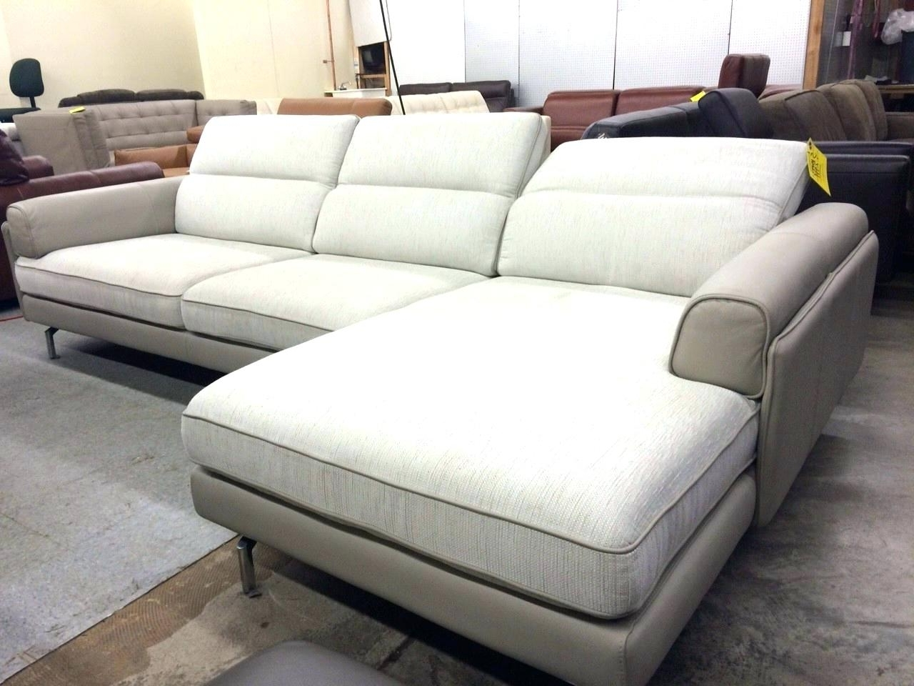 Chaise : Wide Chaise Sofa Sectional Extra Wide Chaise Sofa (View 17 of 20)