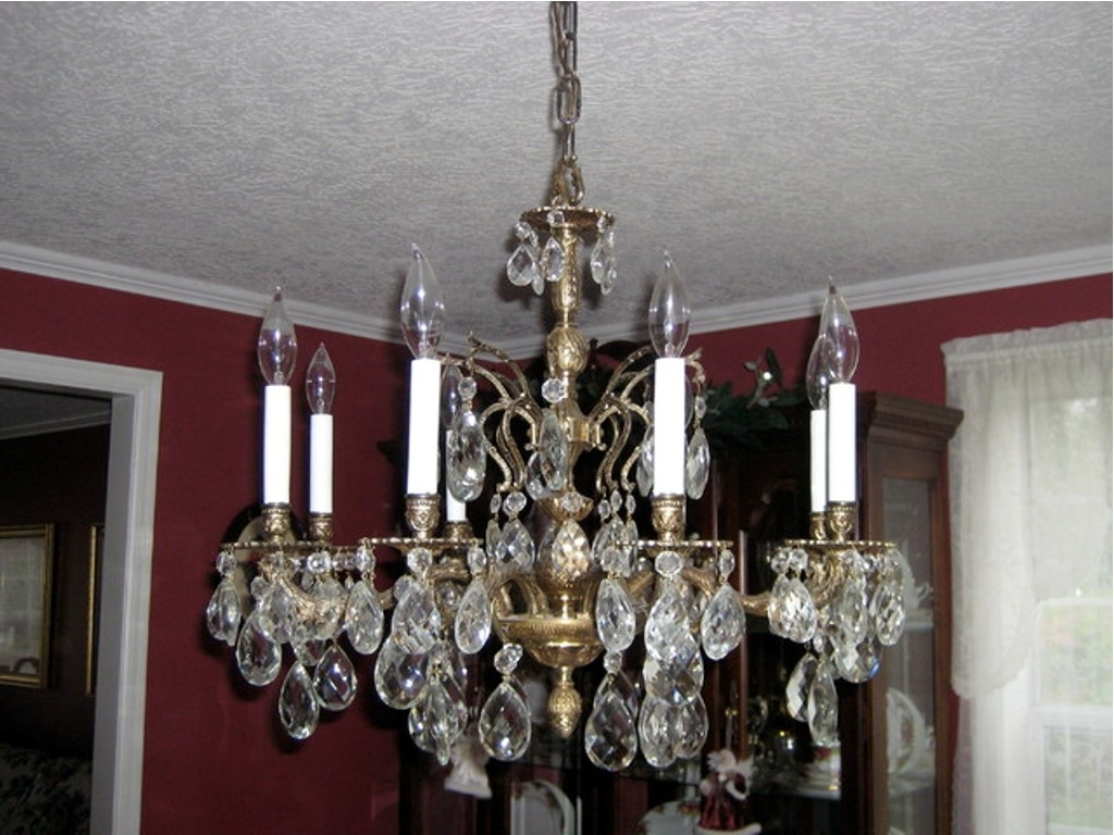 Chandelier: Amazing Brass Chandeliers 2017 Ideas Brass Chandelier Inside Newest Vintage Brass Chandeliers (View 2 of 20)