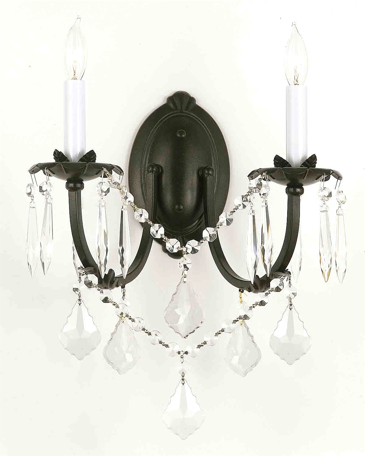 Chandelier : Wall Mount Crystal Chandeliers Gratifying Pertaining To Famous Wall Mounted Chandeliers (View 1 of 20)