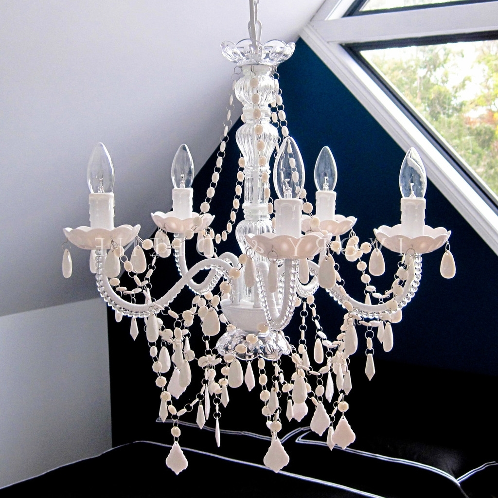 Chandeliers And French Provincial With White And Crystal Chandeliers (View 4 of 20)