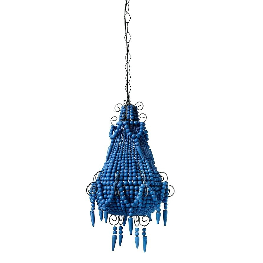 Chandeliers ~ Blue Beaded Chandelier Turquoise Beads Six Light Throughout Most Current Turquoise Beads Six Light Chandeliers (View 16 of 20)