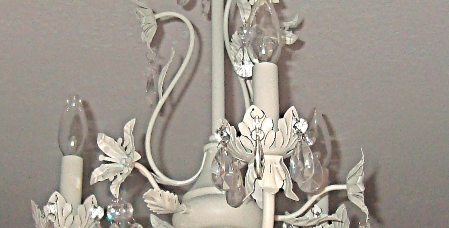 Chandeliers Design : Awesome Dramatic Small Shabby Chic Crystal With Popular Small Shabby Chic Chandelier (View 6 of 20)