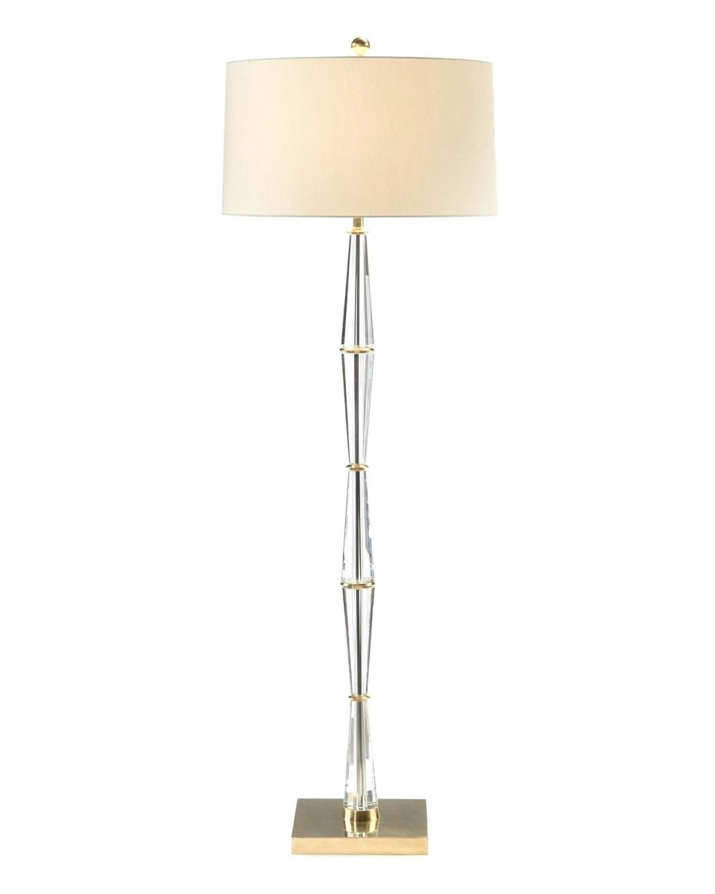 Chandeliers Design : Magnificent Floor Lamps Chrome Crystal Lamp Intended For 2019 Standing Chandeliers (View 5 of 20)