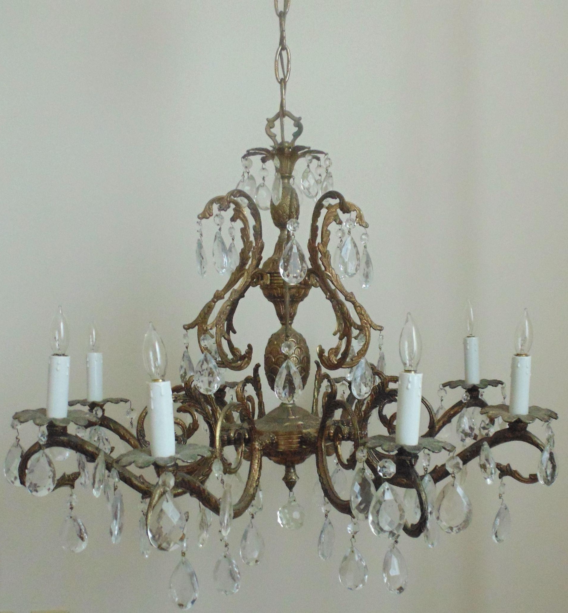 Chandeliers : Vintage Chandelier Elegant Vintage Chandelier Hire With Regard To Most Current Vintage Chandeliers (View 1 of 20)
