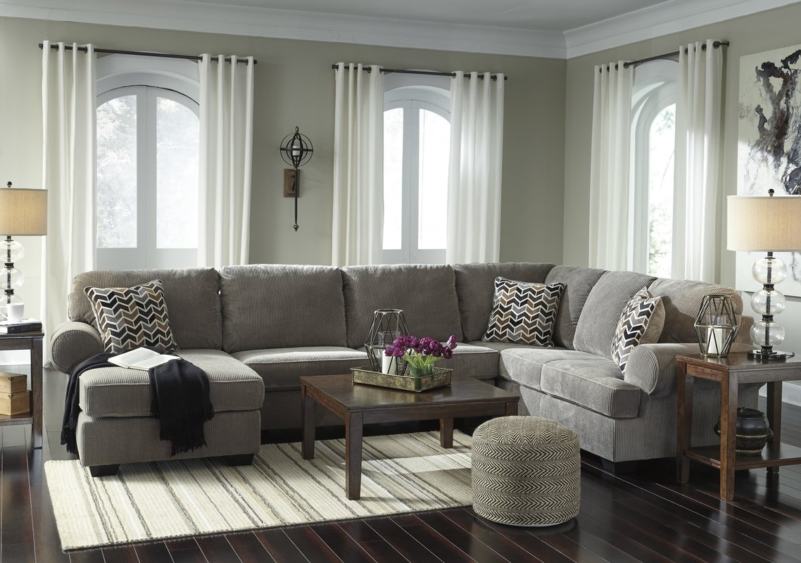 Charlton Home Ellicottville U Shaped Sectional & Reviews (View 2 of 20)