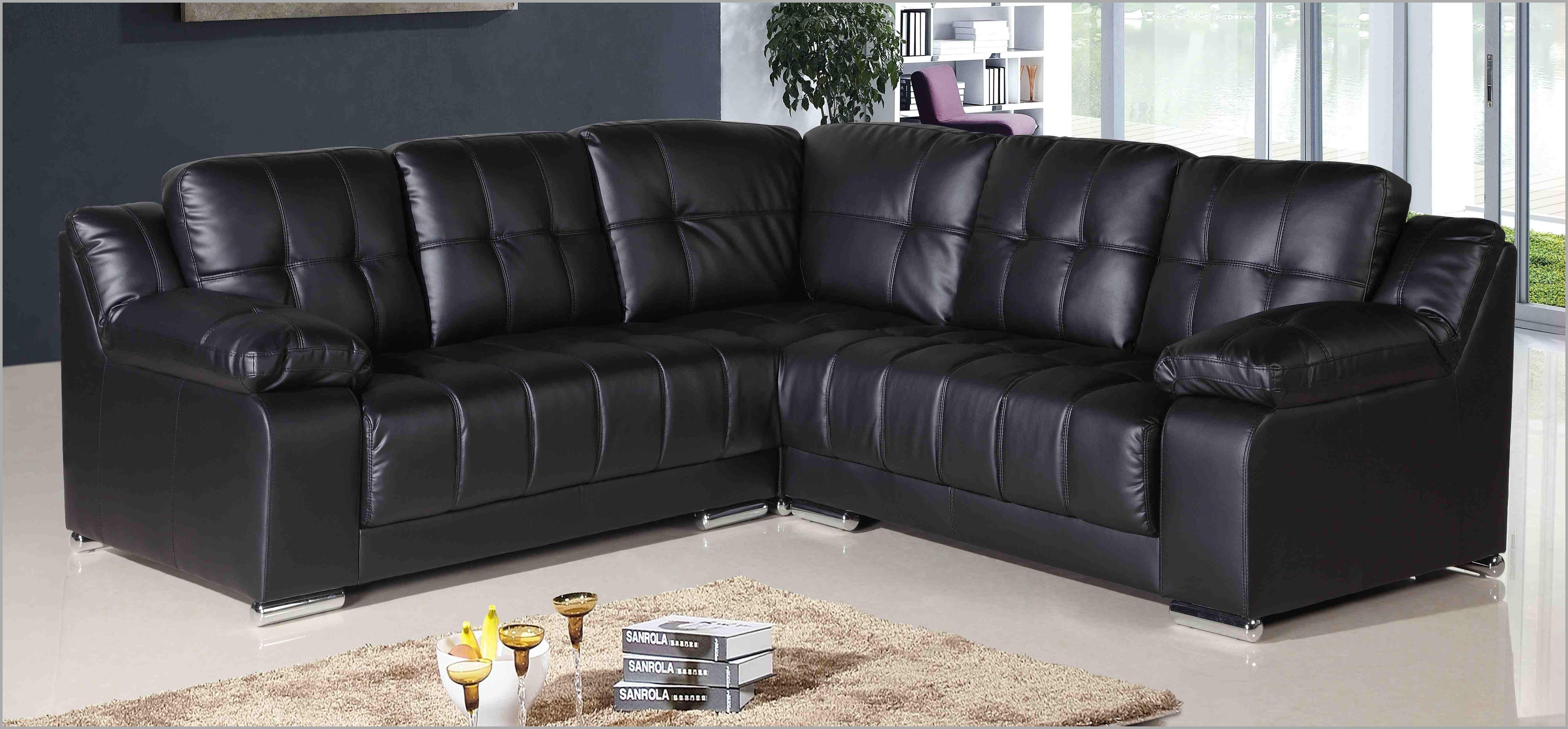 Cheap Black Sofas Within 2018 Inspirational Cheap Black Corner Sofa – Mediasupload (View 9 of 20)