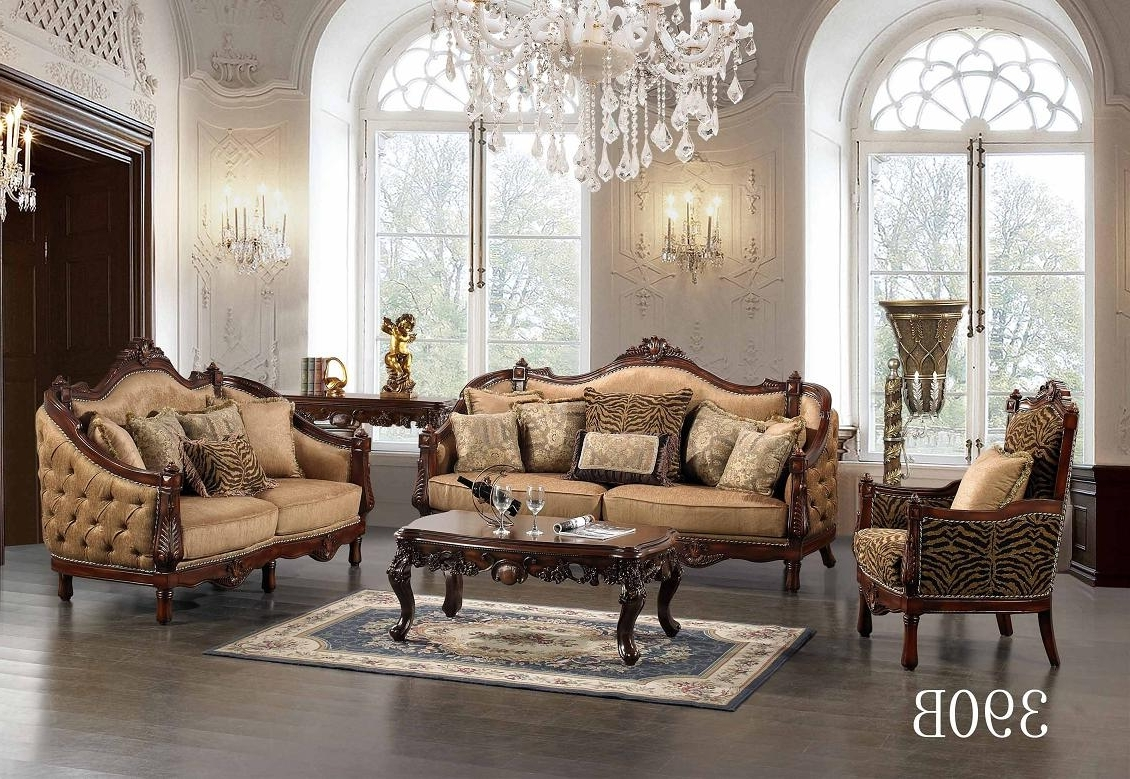 Cheap Couches Elegant Sofas Living Room Modern Sofas Country Rose Inside Newest Traditional Sofas And Chairs (View 4 of 20)