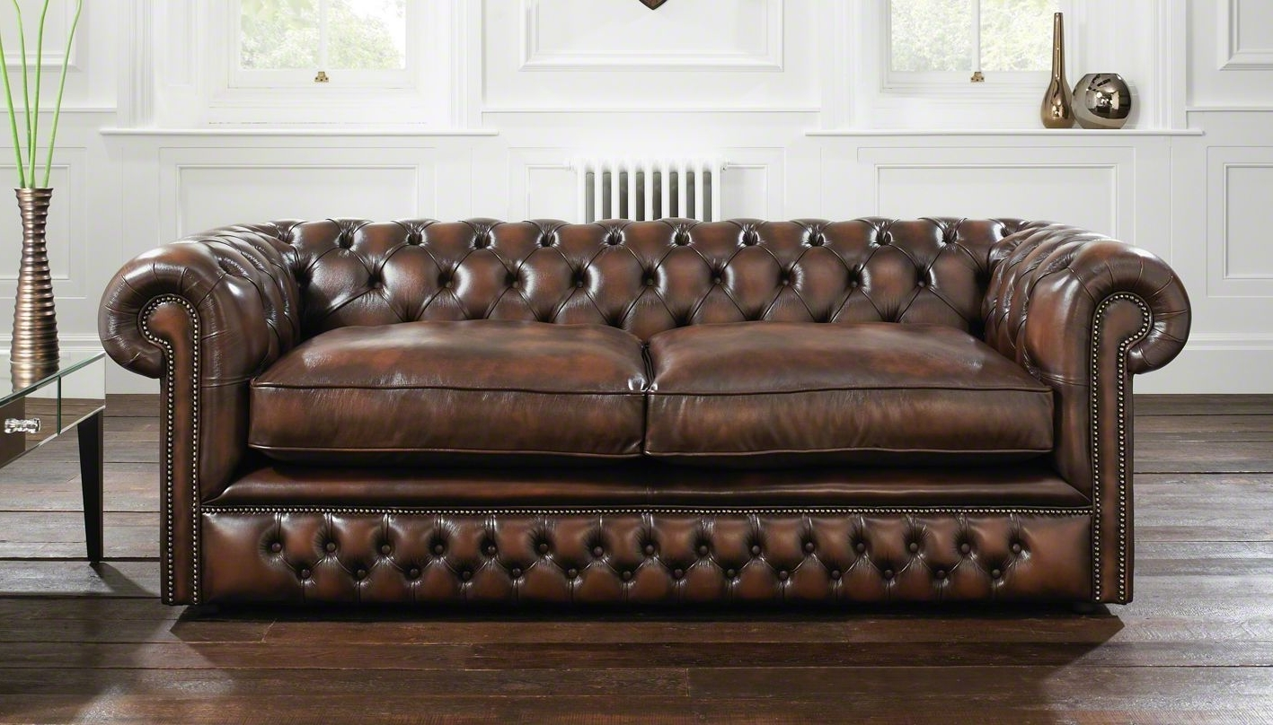 Chesterfield Sofas And Chairs Pertaining To Well Known Holyrood Chesterfield Sofa (View 6 of 20)