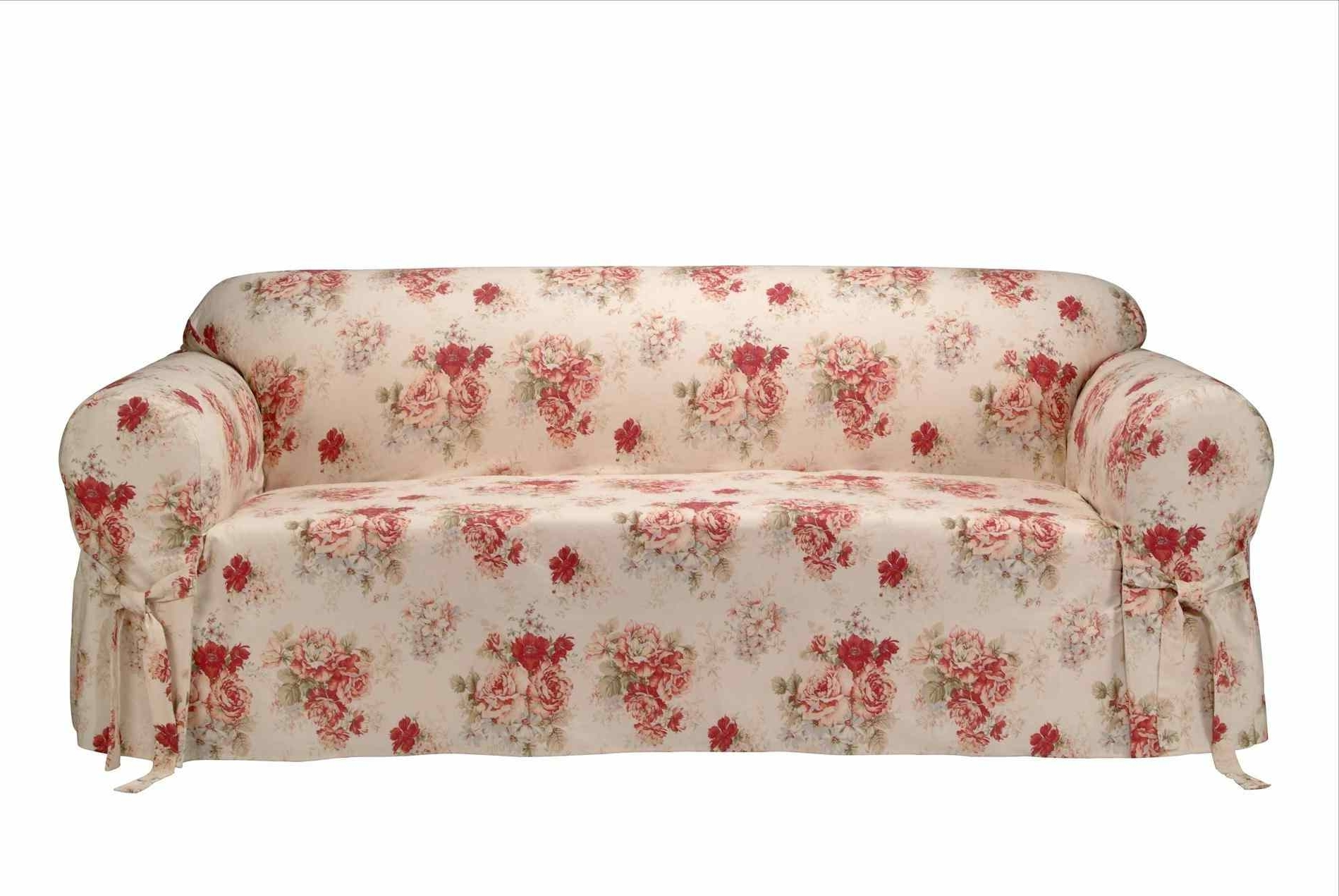 Chintz Covered Sofas Inside Trendy Sofa : Printed Sofa Covers Slip Centerfieldbarcom Modern Couch (View 6 of 20)