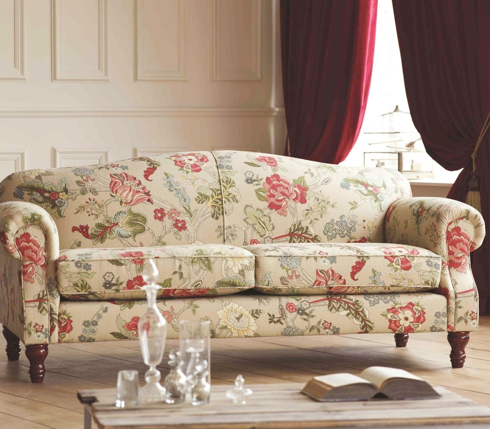 Chintz Fabric Sofas Inside Best And Newest Chintz Sofa 77 With Chintz Sofa – Fjellkjeden (View 3 of 20)