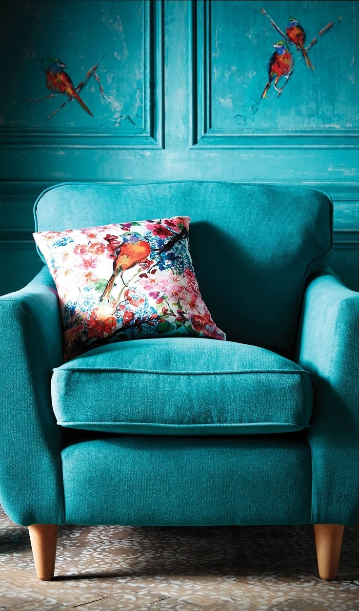 Chintz Fabric Sofas Throughout 2018 Sofa : Chintz Fabric Sofas Striking Chintz Fabric Sofas (View 4 of 20)