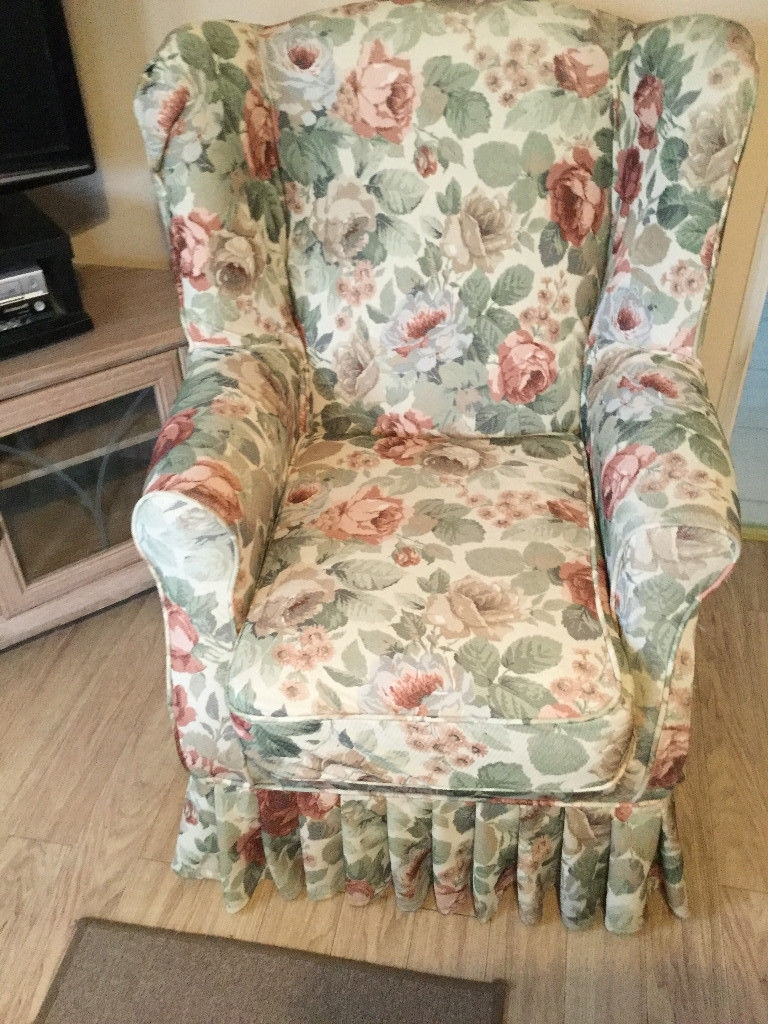 Chintz Fabric Sofas Throughout Well Known Armchair : Chintz Drapes Chintz Fabricthe Yard Chintz Fabric (View 5 of 20)