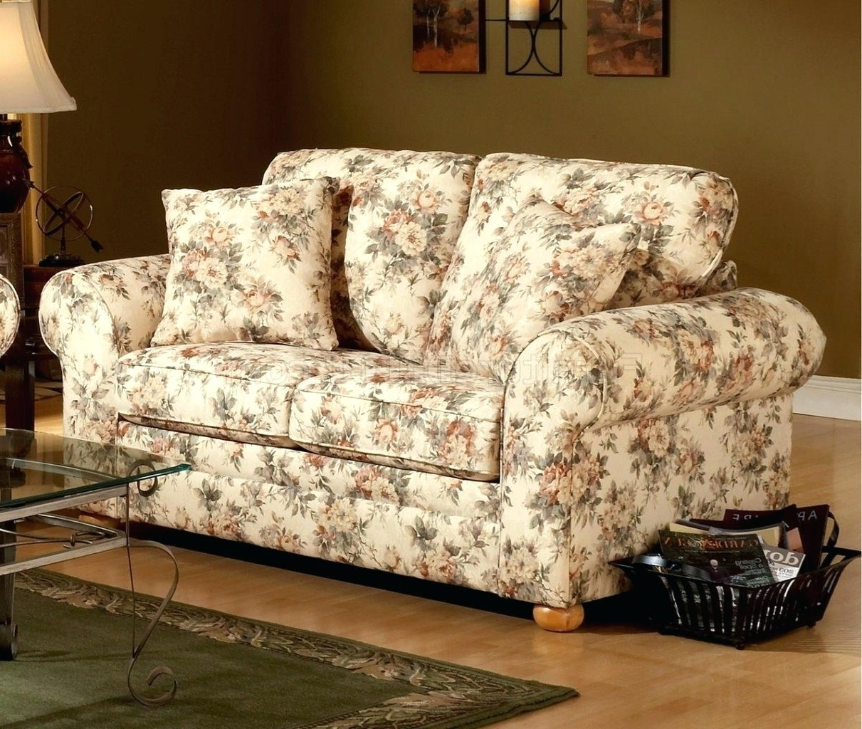 Chintz Floral Sofas Regarding Favorite Chairs: Chintz Chairs. Chintz Arm Chairs. Chintz Furniture For (Gallery 3 of 20)