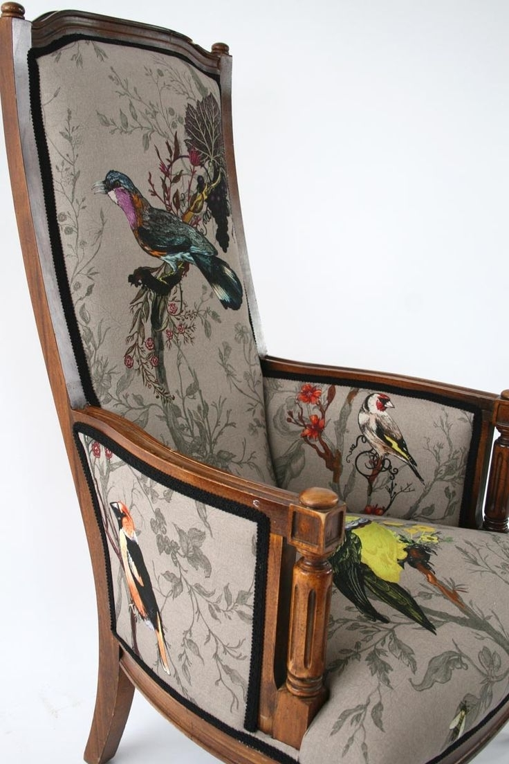 Chintz Sofas And Chairs With Regard To Famous Chairs : Upholstered Arm Chair Beautiful Chintz Sofas And Chairs (View 6 of 20)