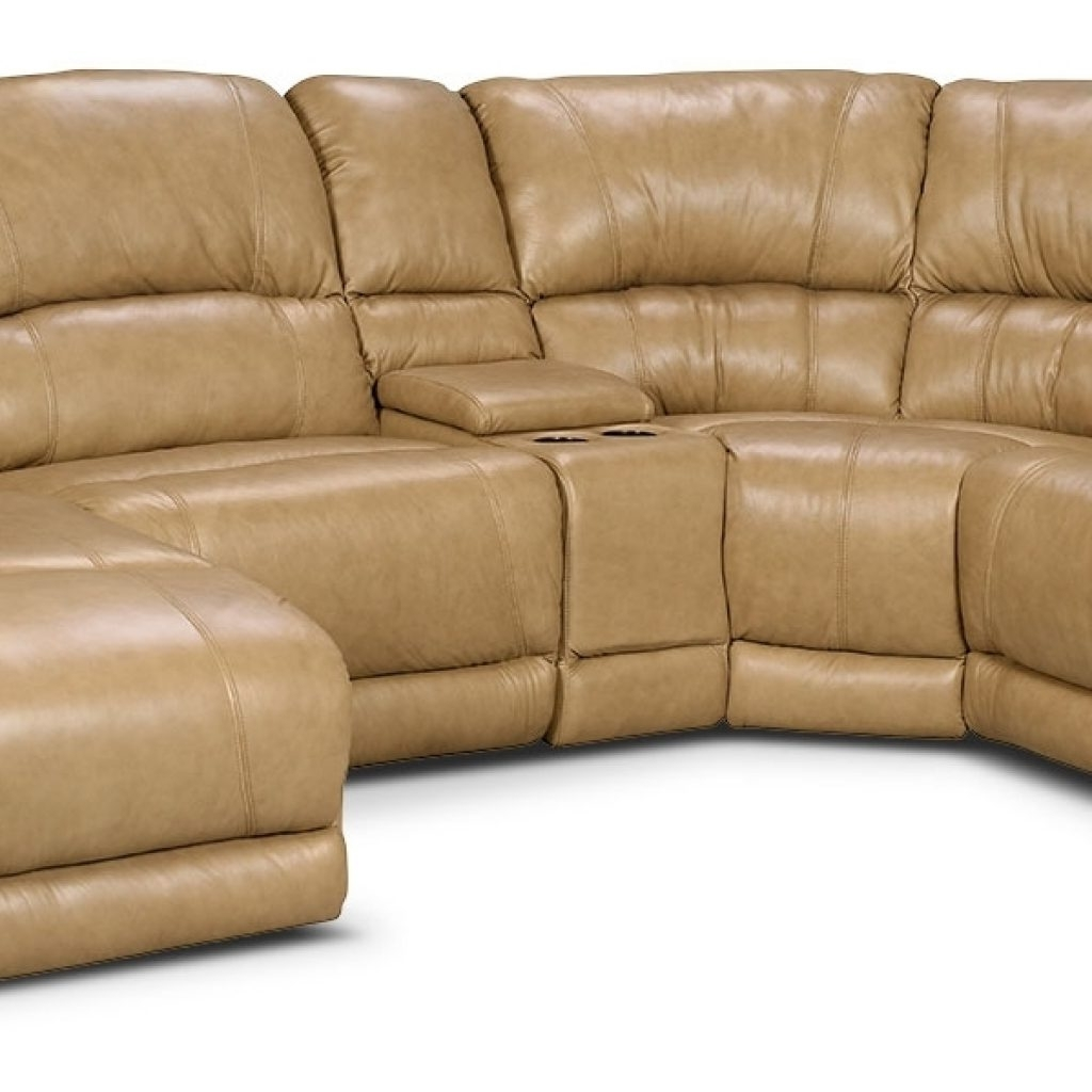 Cindy Crawford Sofas Pertaining To Well Liked Stylish Cindy Crawford Leather Sectional – Buildsimplehome (View 9 of 20)