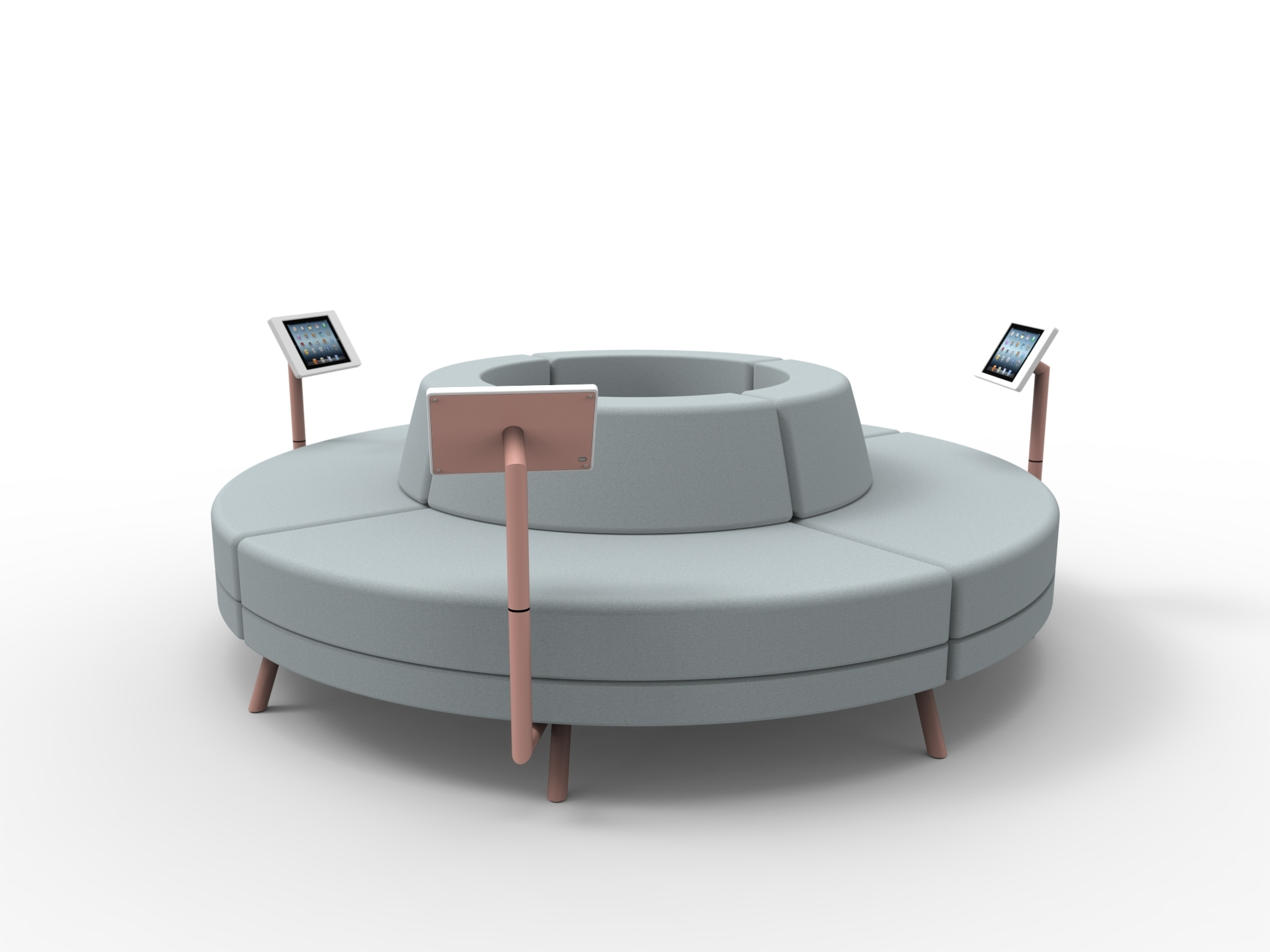 Circle Sofas Within Recent The Amazing Circular Sofa – Goodworksfurniture (View 16 of 20)