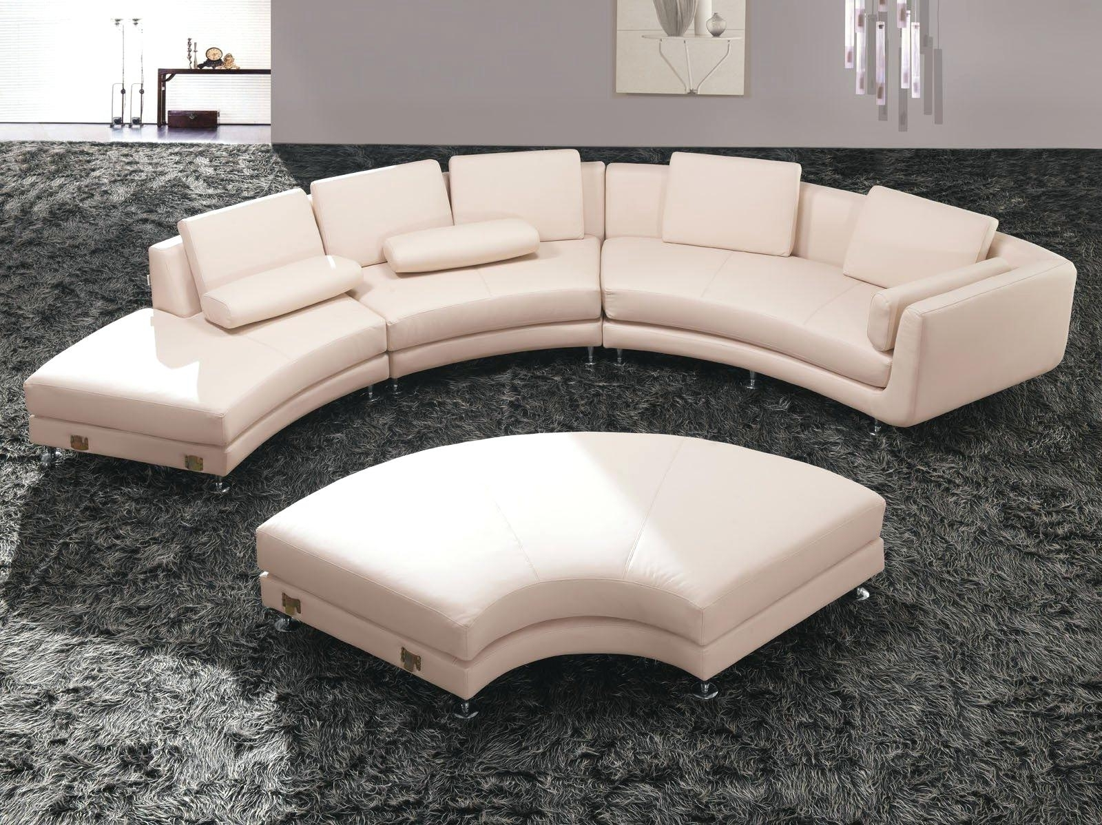 Circular Sectional Sofa Ths Austn Modern Sofas Shore Patio Set Throughout Newest Rounded Sofas (View 2 of 20)