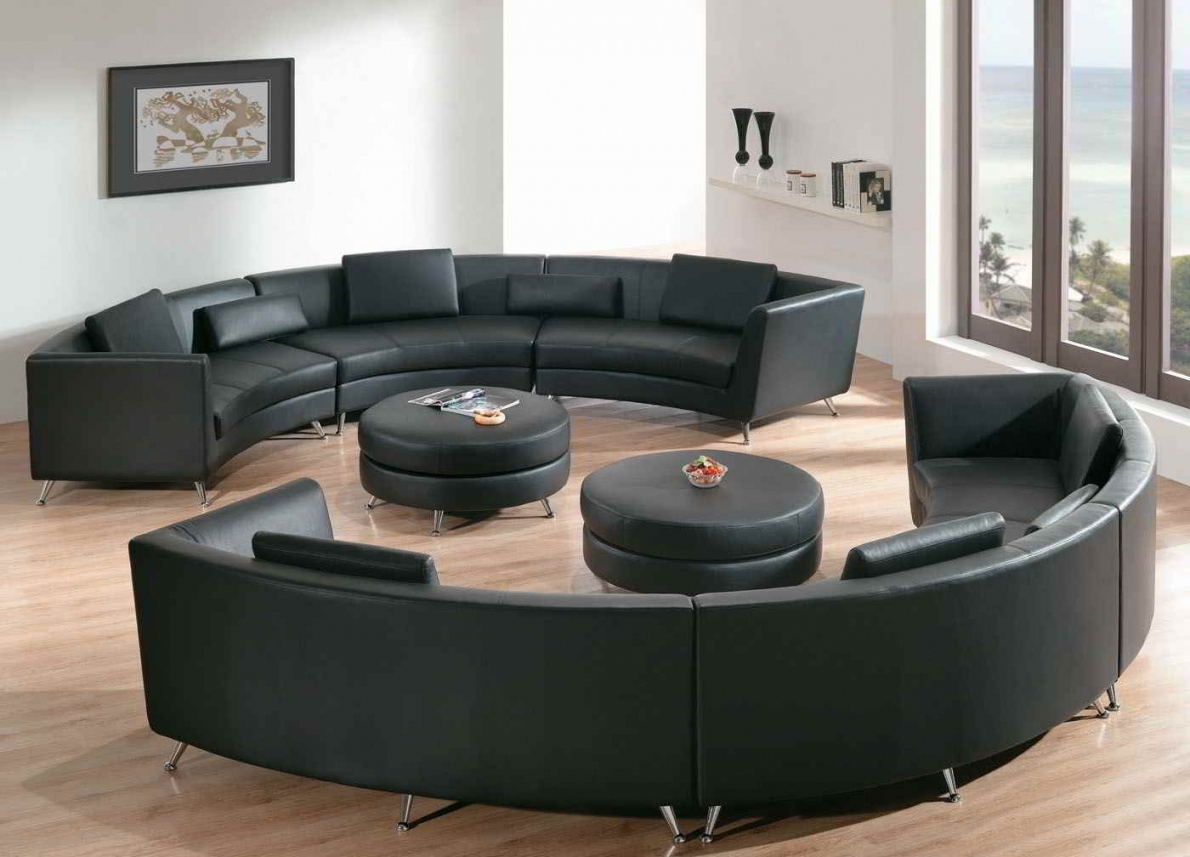 Circular Sectional Sofas For Trendy Living Room And Furniture (View 17 of 20)