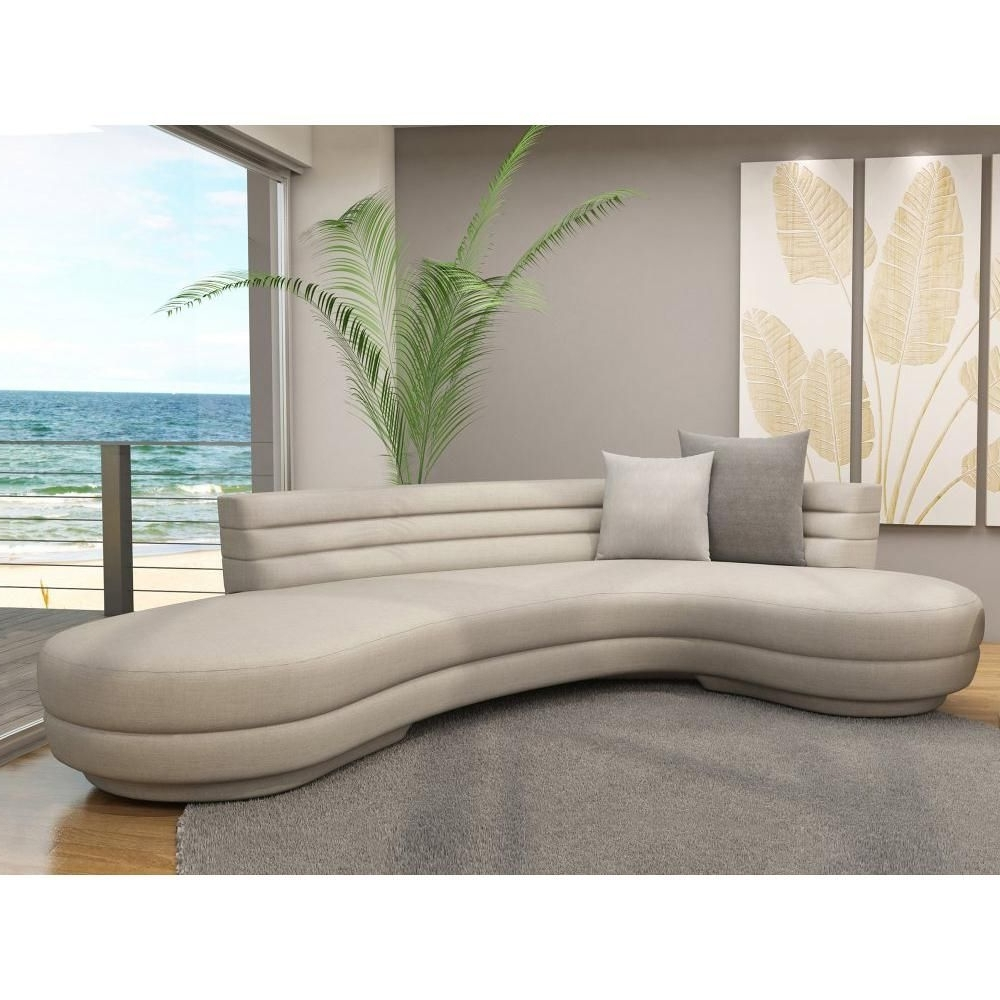 Circular Sectional Sofas Regarding Widely Used Image Of: Curved Sectional Sofa In Color (View 12 of 20)