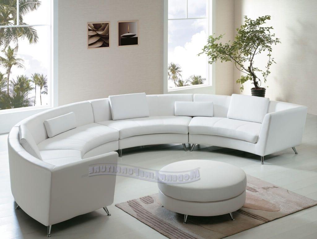 Circular Sectional Sofas With Current Living Room: Round Sectional Couch – 8 – Round Sectional Couch (View 9 of 20)