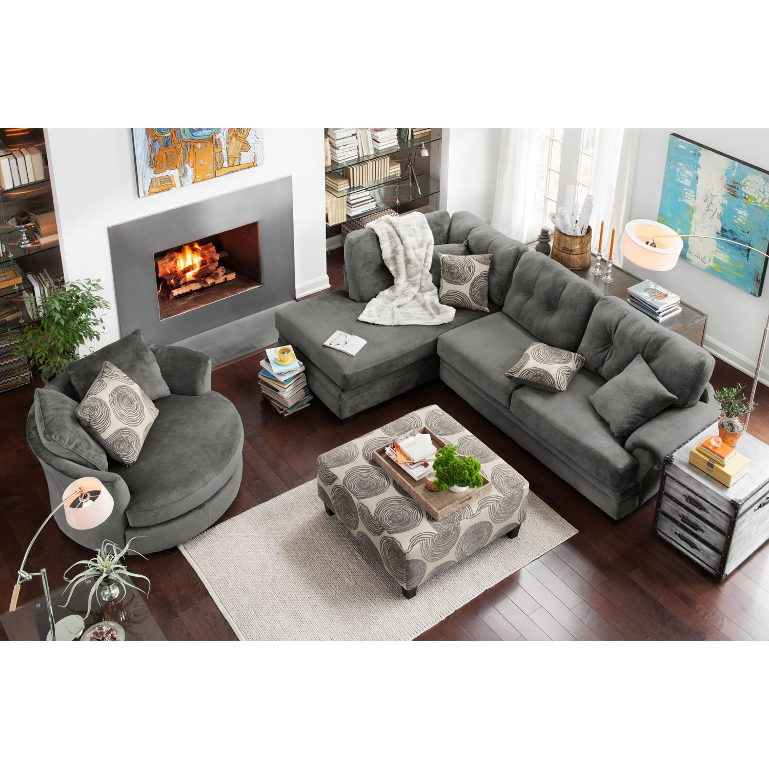 City In Best And Newest Value City Sectional Sofas (View 9 of 20)