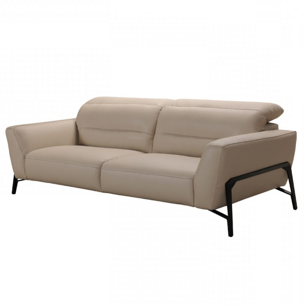 Clarksville Tn Sectional Sofas In Most Recently Released Sofa : Divani Casa Evora Modern Taupe Leather Sofaair Set And (View 14 of 20)