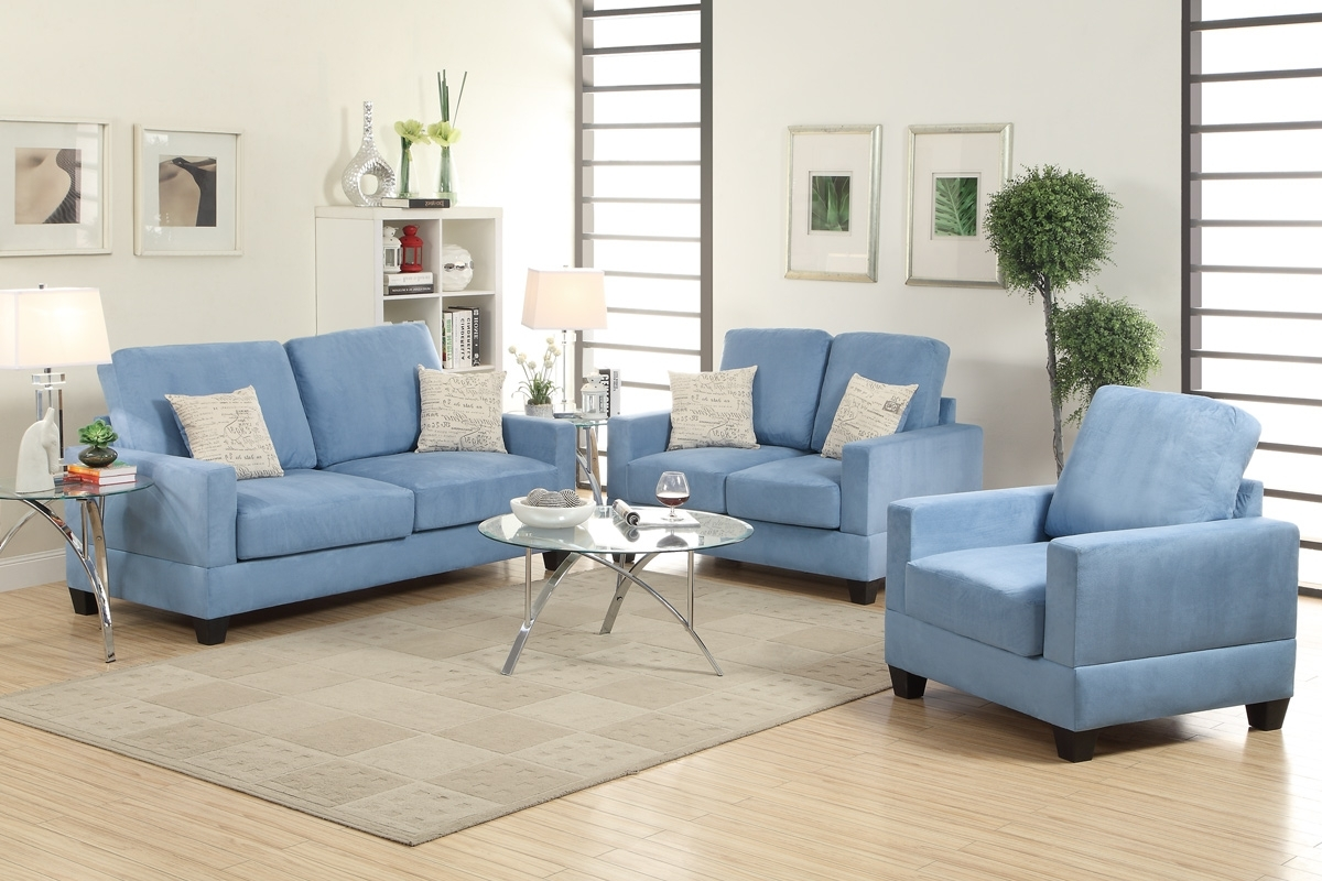 Clarksville Tn Sectional Sofas Inside Popular Sofa : Divani Casa Amisk Modern Teal Grey Fabricofa Chairet Andets (View 4 of 20)