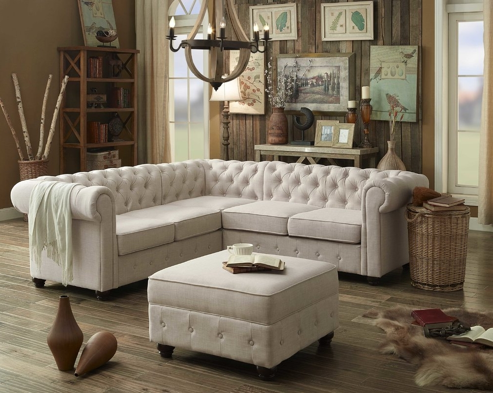 Clarksville Tn Sectional Sofas Throughout Most Recent Mulhouse Furniture Garcia Sectional Collection & Reviews (View 13 of 20)
